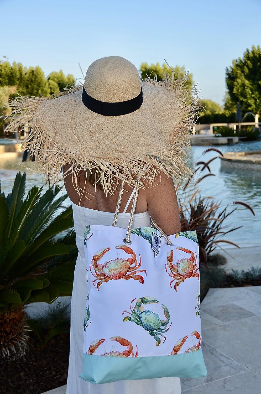 Colorful Waterproof totes MEDIUM BEACH BAG Tote Bag for Women