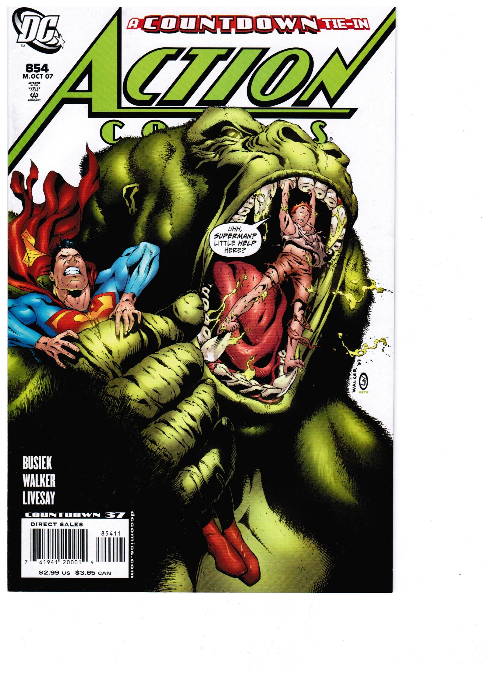 Download Action Comics #854 pdf