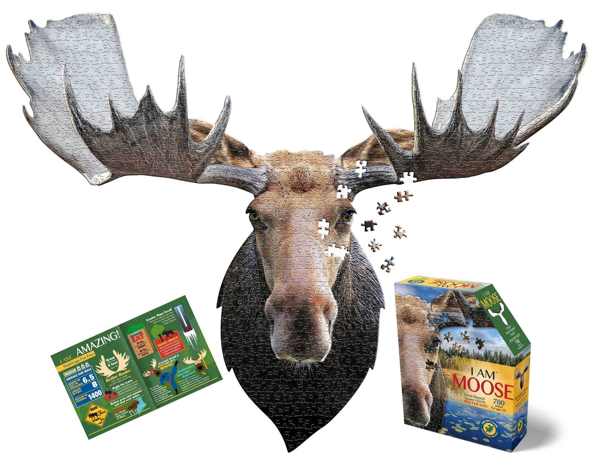 Madd Capp I am Moose Puzzle by Madd Capp