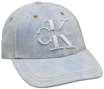 a3a34a3d8 Calvin Klein Jeans Women's Re-Issue Cp Baseball Cap, Blue (Denim ...