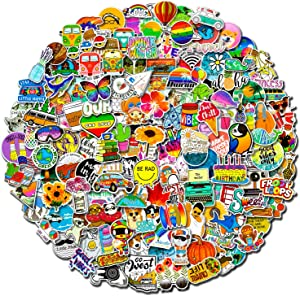 200 Pcs Funny Stickers Pack,Random Stickers for Skateboard Flask Laptop Water Bottles,Cute Trendy Sticker for Teens Adult,Waterproof Graffiti Decals,Extra Durable 100% Vinyl
