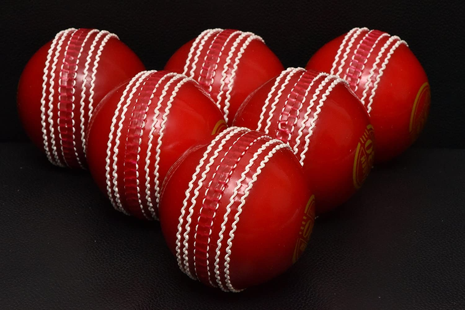 Pack de 6 balles de cricket As Incrediball - Balles de cricket excellentes pour l'entraînement Affordable spots