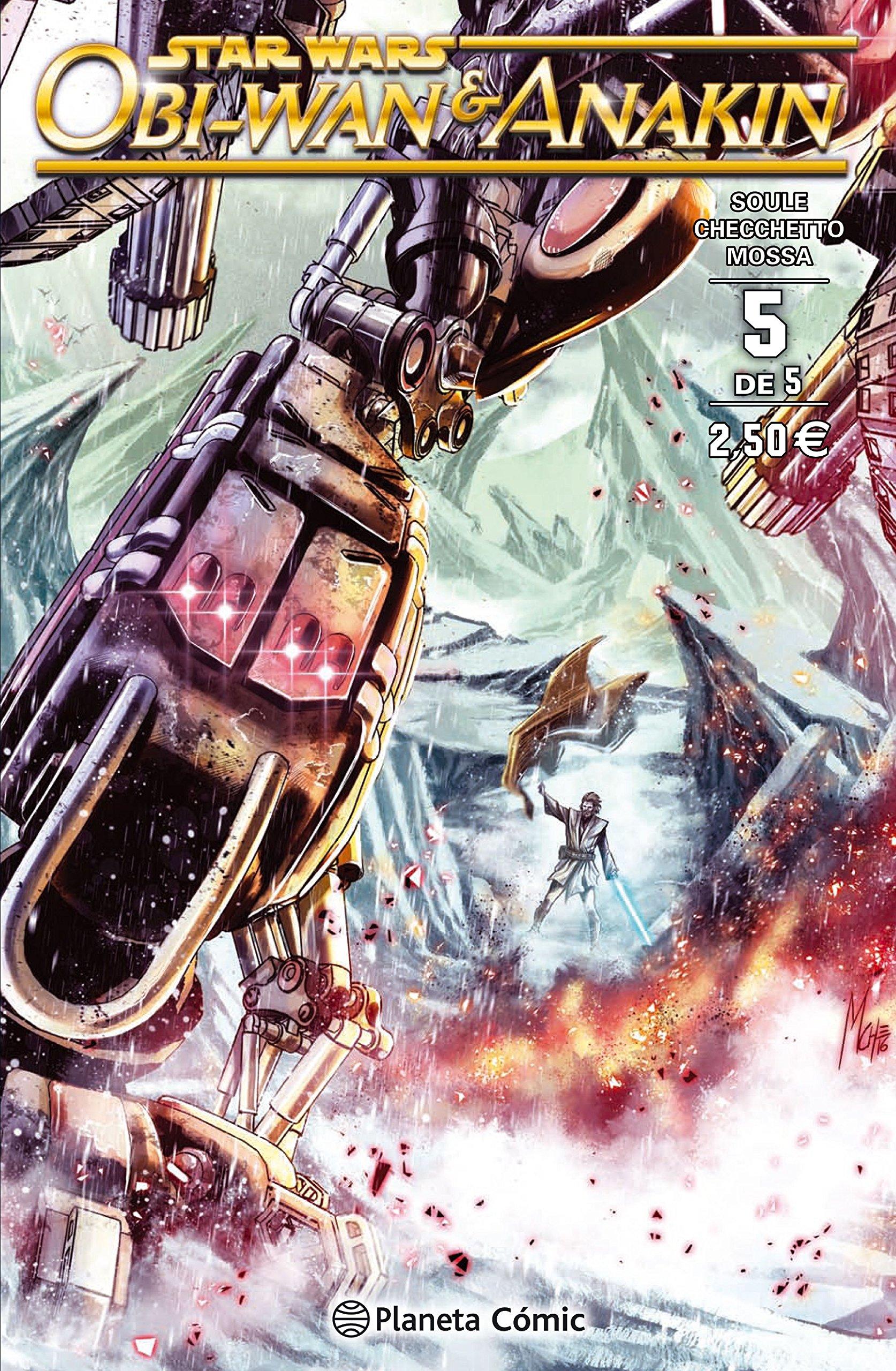 Star Wars Obi-Wan and Anakin nº 05/05 (Star Wars: Cómics Grapa Marvel) Tapa blanda – 7 feb 2017 Charles Soule Planeta DeAgostini Cómics 8416767688 Science fiction