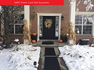 Summerstep Home DM24x36C-RES Residential Snow Melting Heated Door Mat, Anti-Slip, Ideal Winter Safety Snow Mat; (Requires SMPC Power Cord)