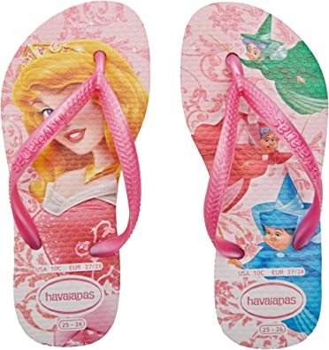 Multicolore Havaianas Slim Frozen Tongs Fille 35//36 EU Crystal Rose 1141