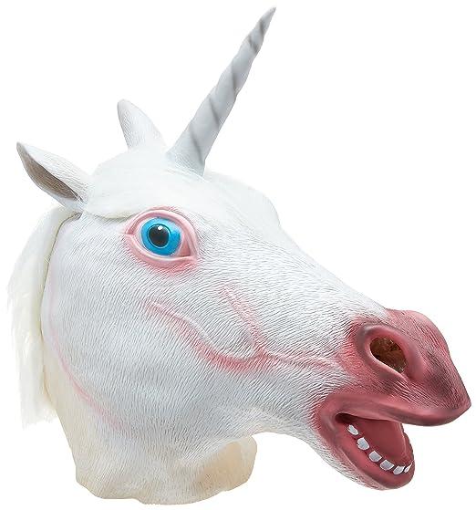 amazon com accoutrements magical unicorn mask toys games