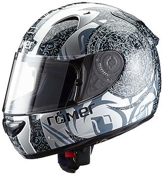 Römer Mandala Casco Integral de Motocicleta, Negro/Gris, XL
