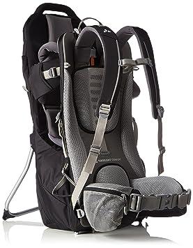 86296211dd1f VAUDE Shuttle Base Porte-bébé léger pour la randonnée Mixte Adulte, Black