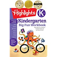 Kindergarten Big Fun Workbook: Build skills and confidence through puzzles and early learning activities!
