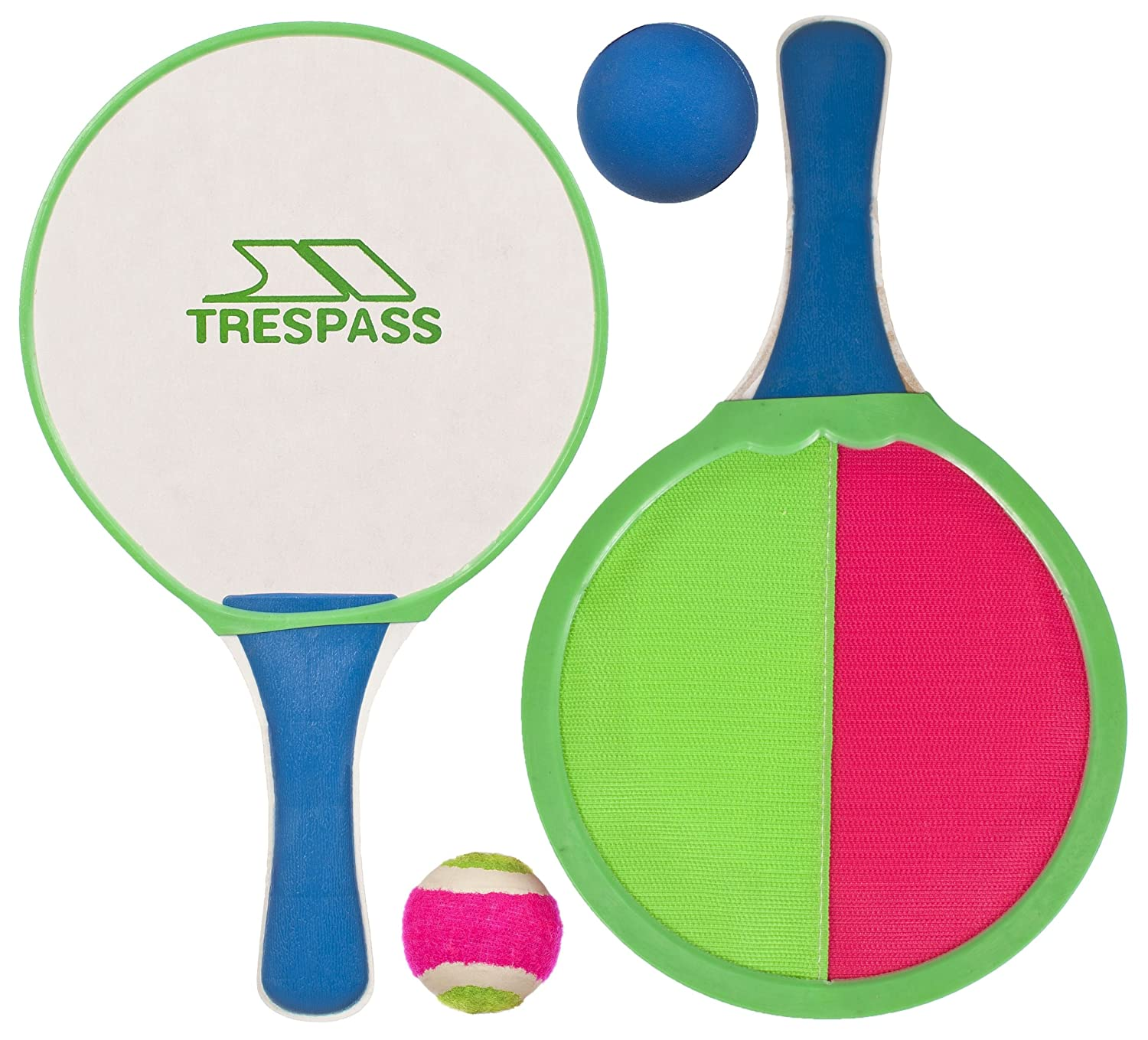Trespass Prodigy, Multi, Paddle Bat and Ball Toy, Multicolour UUACMIG20022_MULEACH