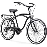 "sixthreezero Around The Block Men's Single-Speed Beach Cruiser Bicycle, 24"" Wheels"