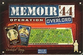 Asmodee Juego de Mesa Days of Wonder Memoir 44 Operación Overlord de expansión: Amazon.es: Juguetes y juegos