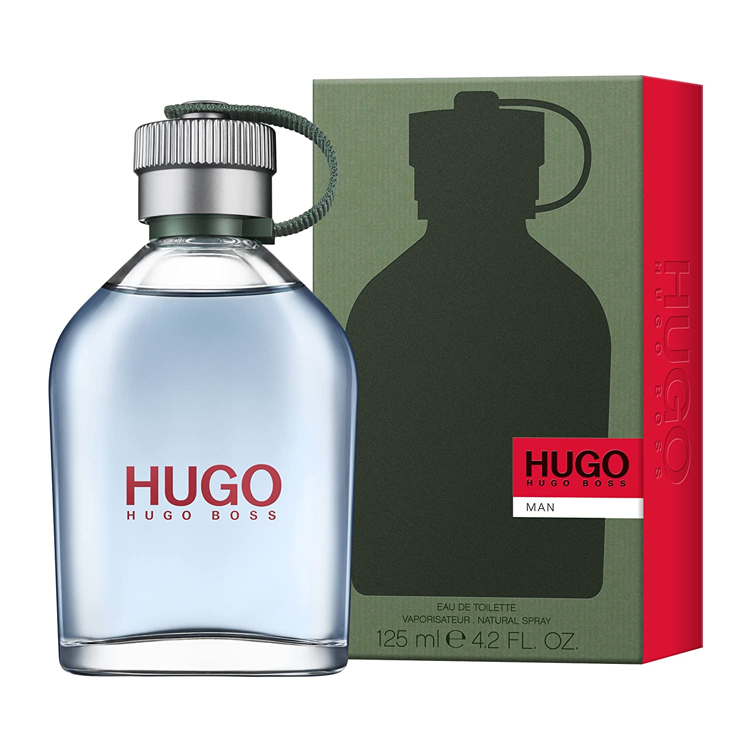 ba99e2ef1c Hugo Boss Man Eau De Toilette for Men, 125 ml: Amazon.co.uk: Beauty