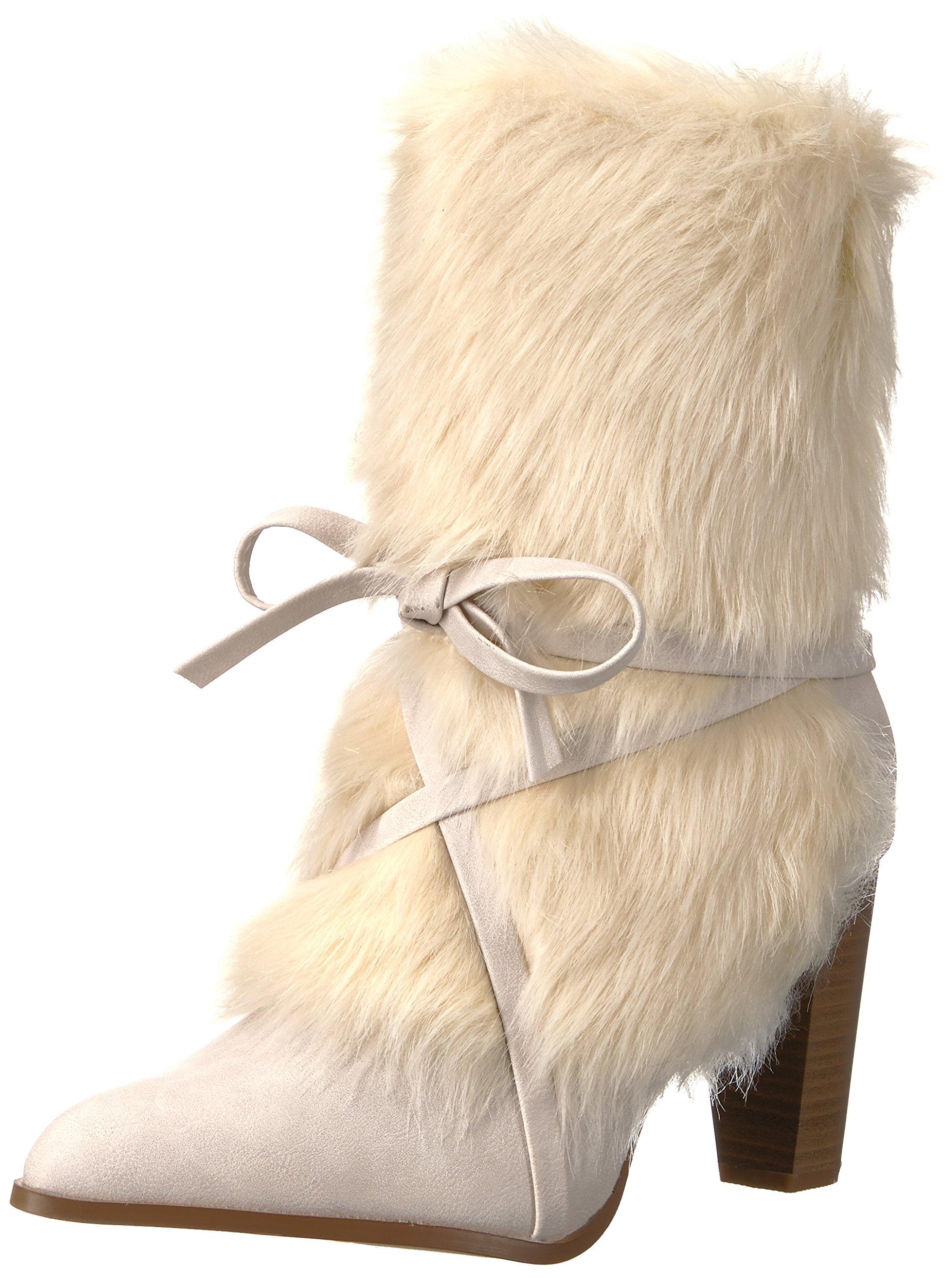 Penny Loves Kenny Women's APER Winter Boot, White, 8.5 M US
