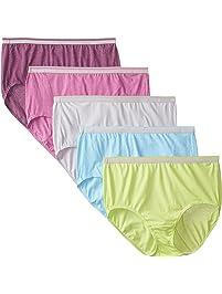 Fruit of the Loom Women's Stretch Briefs Ladies Underwear Panties