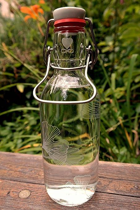 Libre Cristal 0,5 l Botella de Cristal * * 100% Ginkgo Biloba plastikfrei