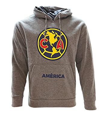 066bea7b6 Amazon.com: Icon Sport Club America Fan Youth Sweater Hoodie Gray Official  Licensed: Clothing