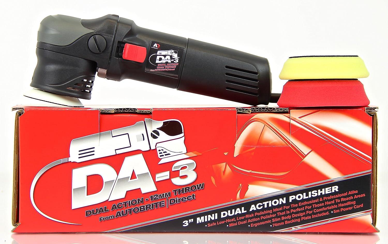 Autobrite Direct DA-3 Mini Dual Action Polisher 5060430151326
