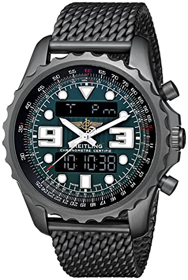 Breitling M7836522-L521 - Reloj de pulsera hombre, acero inoxidable, color Negro