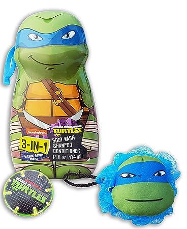 Amazon.com: Teenage Mutant Ninja Turtles Lavado de Cuerpo ...