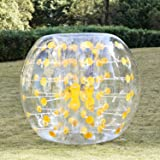 Kemanner Inflatable Bumper Balls 1.5M 5FT Diameter Body knocker Human Hamster Ball Sumo Bubble Soccer zorb ball for Adults and Kids(US Stock)