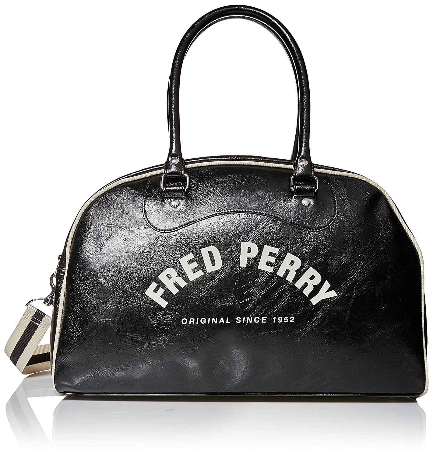 Fred Perry Vintage Homme Holdall Noir L3333