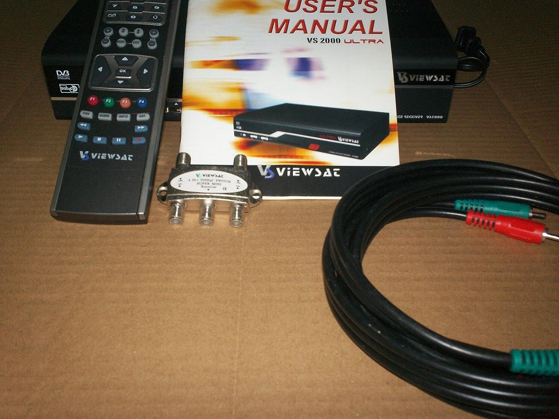 Amazon.com: Viewsat VS2000 Ultra Free-to-Air Satellite Receiver: Electronics