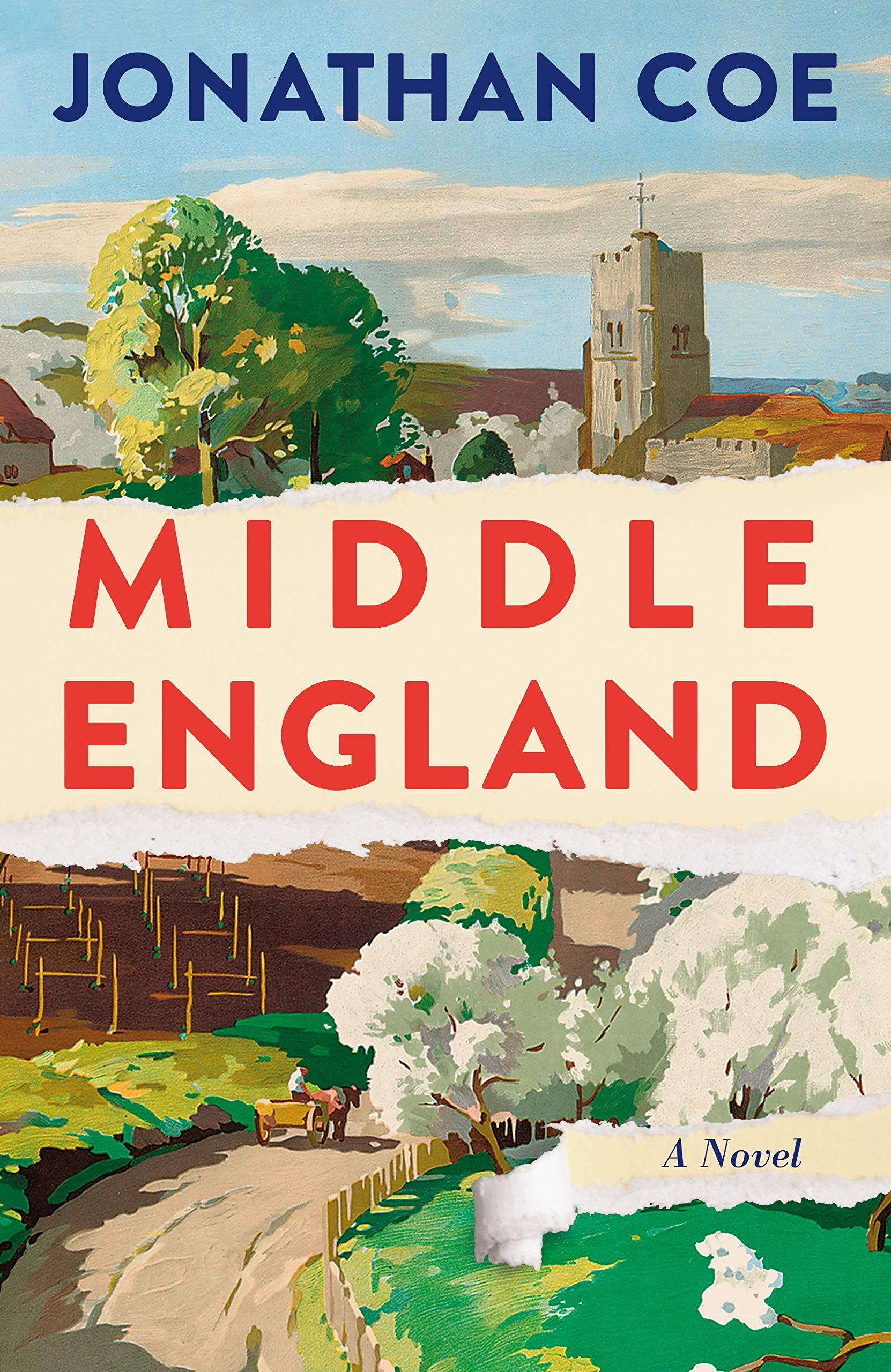 Image result for Middle England by Jonathan Coe
