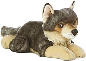 "Aurora World Miyoni Wolf Plush, 16"""