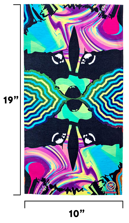 Dust Premium Quality Seamless Bandana//Face Mask for Raves Music Festivals Multipurpose Exclusive Designs