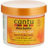 Cantu Shea Butter For Natural Hair Moisturizing Twist & Lock Gel, 13 Ounce (Pack of 1)