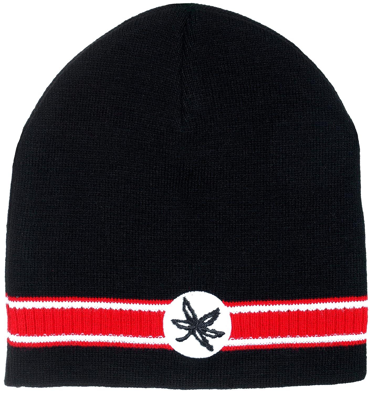 Amazon.com   Collegiate Headwear Ohio State Buckeyes Men s Dash Knit Beanie  (Black)   Sports   Outdoors c931289311f