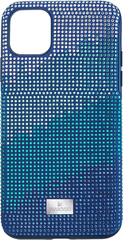 SWAROVSKI Crystalgram Smartphone Case with Bumper, iPhone 11 Pro Max, Blue