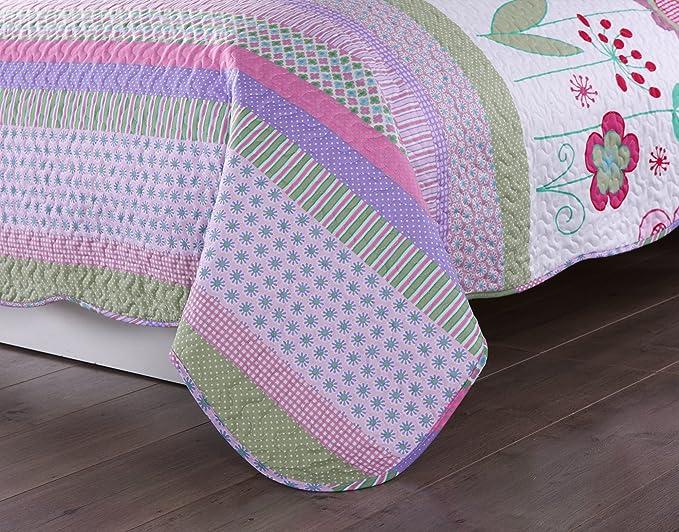 Amazon.com: MarCielo. Colcha de cobertor, 2 unidades de ...