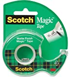 Scotch Magic Tape, Writeable, 1/2 x 450 Inches (104)