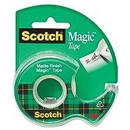 Scotch Brand Magic Tape, Writeable, Photo-Safe, Narrow Width, 1/2 x 450 Inches (104)