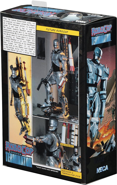 """RoboCop vs The Terminator 7"""" Scale Action Figure Ultimate Future RoboCop NECA"""