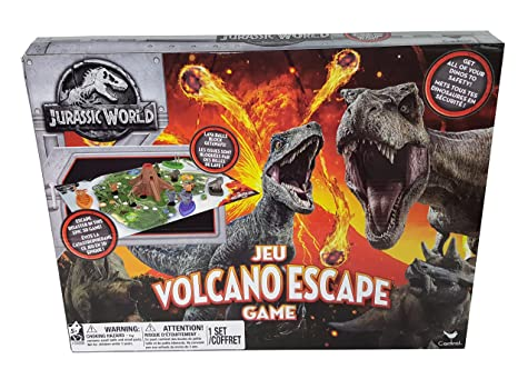 Cardinal Industries Jurassic World Volcano Escape Game