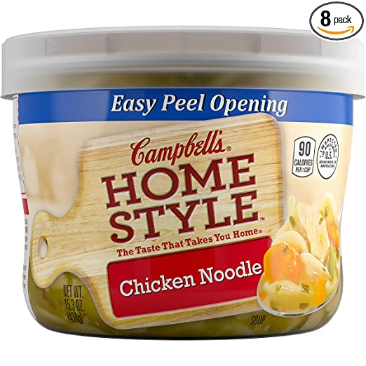 Campbell's Homestyle Soup, Chicken Noodle, 15.3 Ounce (Pack of 8)