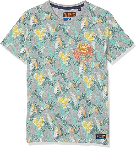 Superdry AOP Lite T Shirt