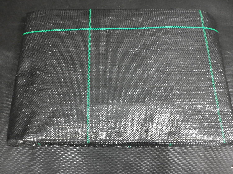 Anti Unkraut 4 x 5m Folie Gartenvlies Bändchengewebe Mulchfolie Bodengewebe