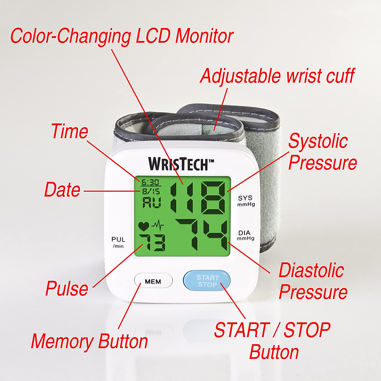 Amazon.com: North American Health & Wellness Color Changing Wrist ...