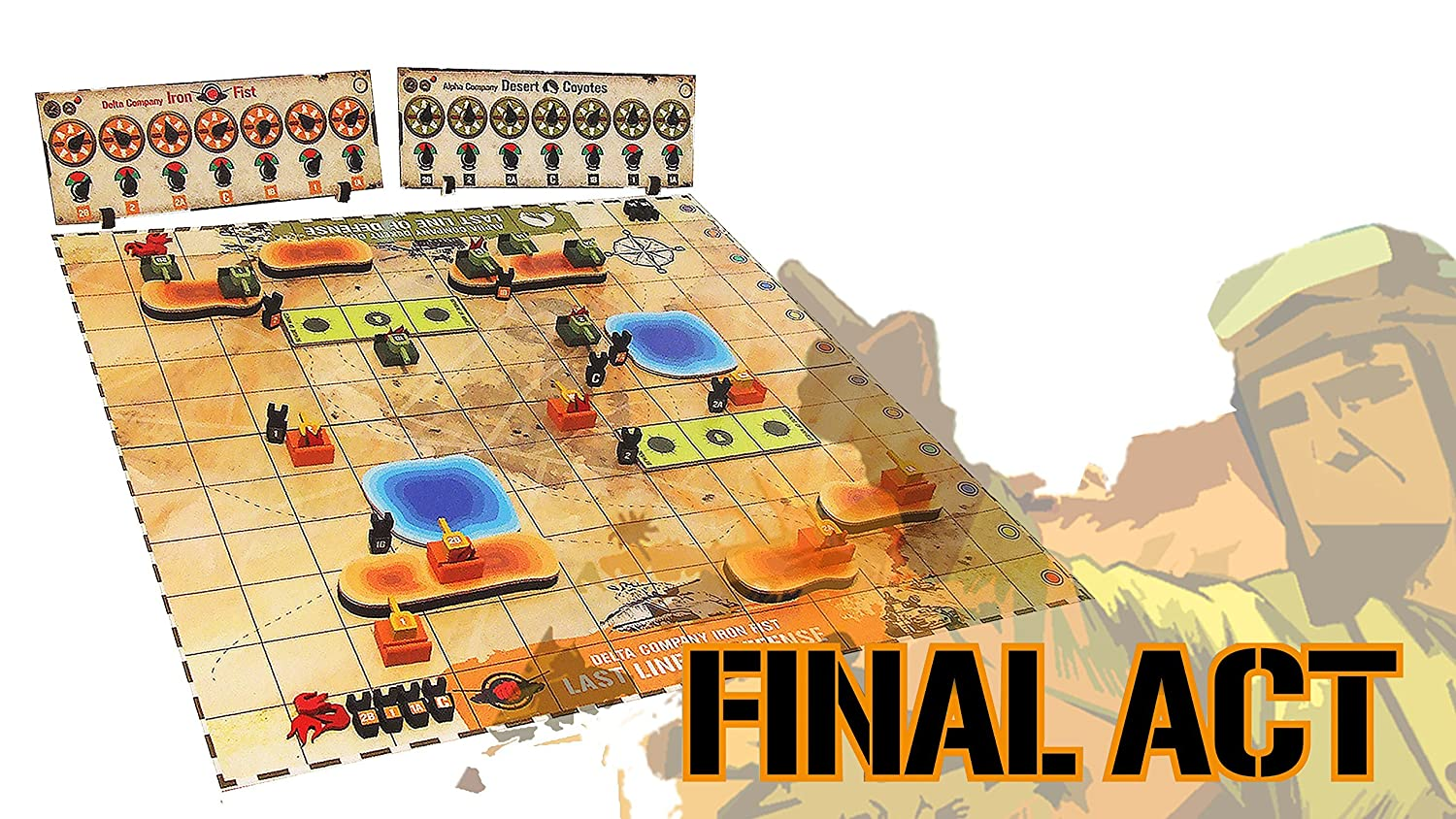 Tyto Games Final Final Final Act Si-Mov Strategy Board Game 0fcabf
