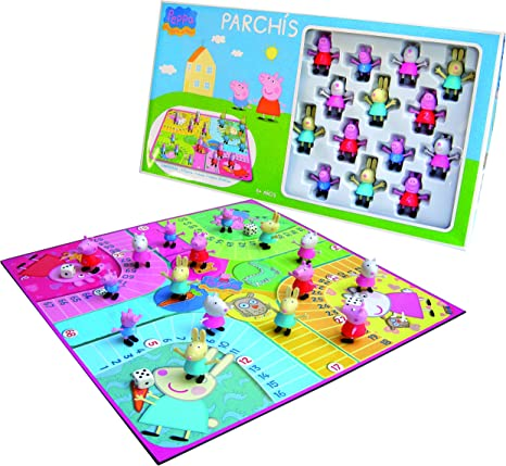 Peppa Pig - Parchís, juego de mesa (United Labels 809760): Amazon.es: Juguetes y juegos