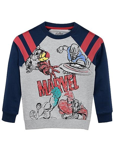 eee331d8ac3b5 Marvel Boys' Avengers Sweatshirt: Amazon.ca: Clothing & Accessories