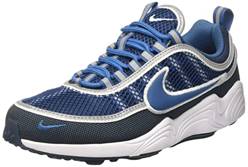 the latest 246c9 74364 Nike Men s Air Zoom Spiridon  16 Running Shoes Armory Navy Industrial Blue  White