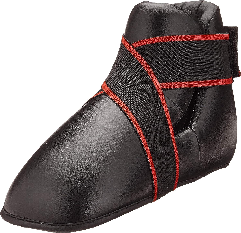 V.Sports Negro Kick Boxing Botas Semi//Contacto Completo Kick Boxing Botas coj/ín del pie del ni/ño//Adulto Kick Boxing Cojines del pie