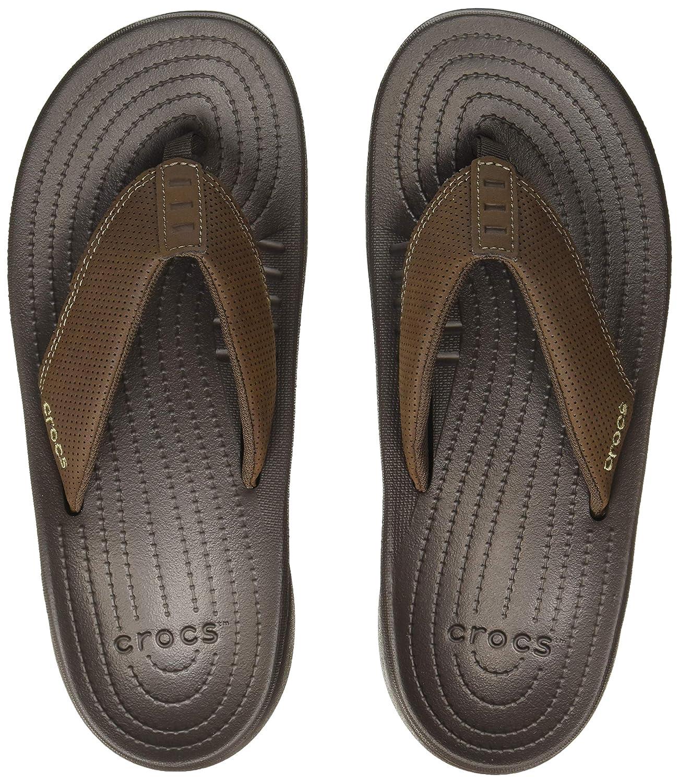 crocs Mens Bogota Flip-Flops – Size 9