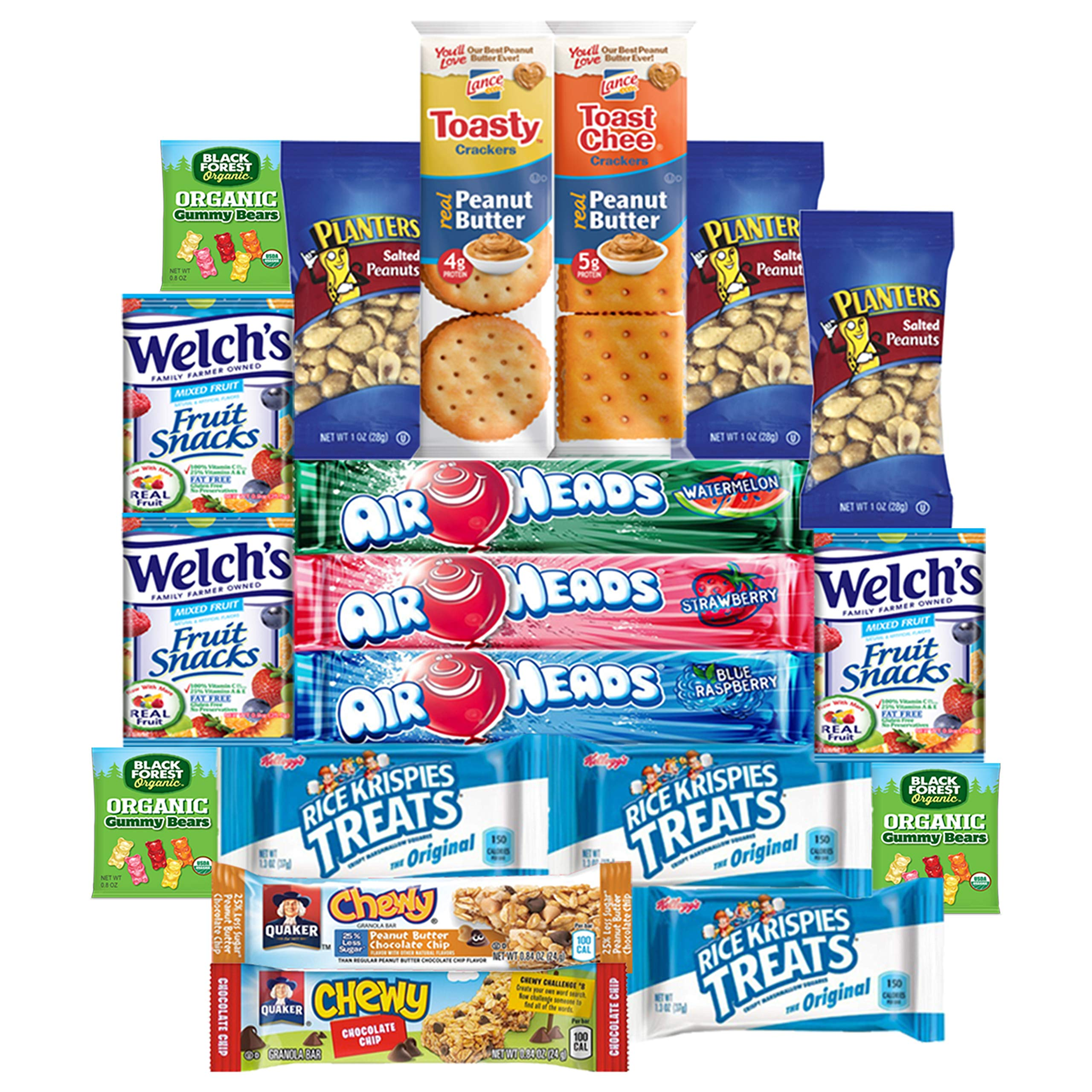 Snack Chest Care Package (40 Count) Variety Snacks Gift Box - College Students, Military, Work or Home - Over 3 Pounds of Chips Cookies & Candy! by Snack Chest (Image #3)