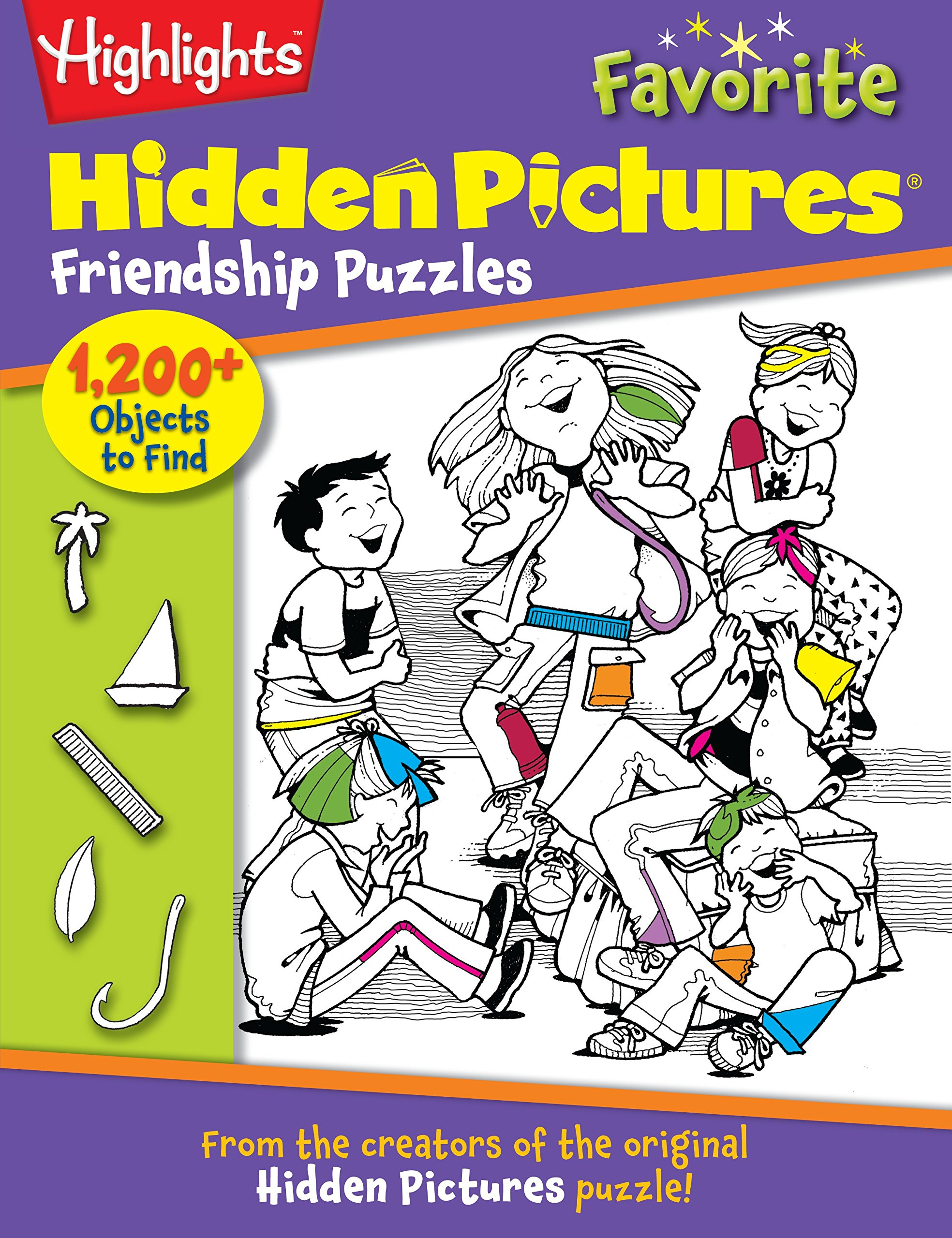 Friendship Puzzles: From the creators of the original Hidden Pictures® puzzle! (Highlights™ Hidden Pictures®) pdf epub